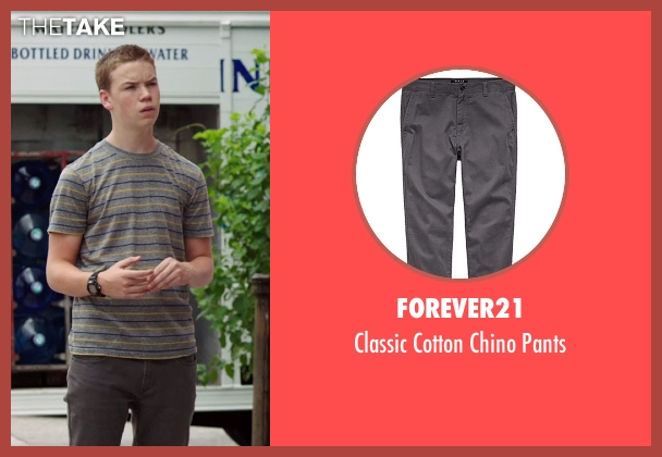 Forever21 gray pants from We're the Millers seen with Will Poulter (Kenny Rossmore)