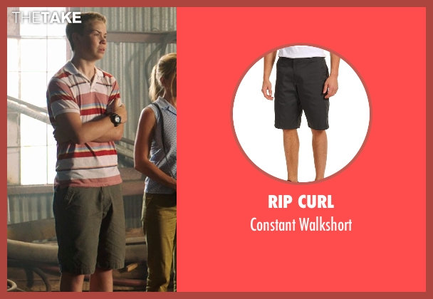 Rip Curl gray walkshort from We're the Millers seen with Will Poulter (Kenny Rossmore)
