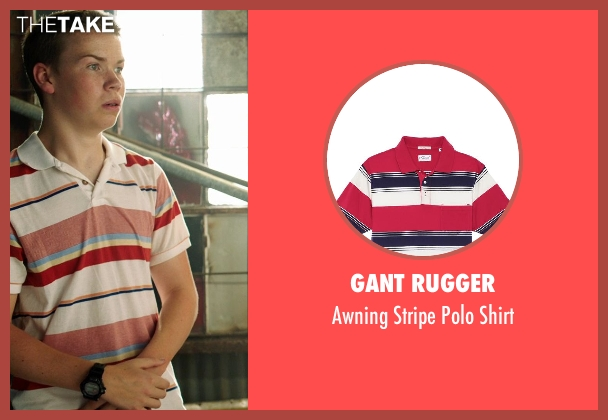 Gant Rugger white shirt from We're the Millers seen with Will Poulter (Kenny Rossmore)