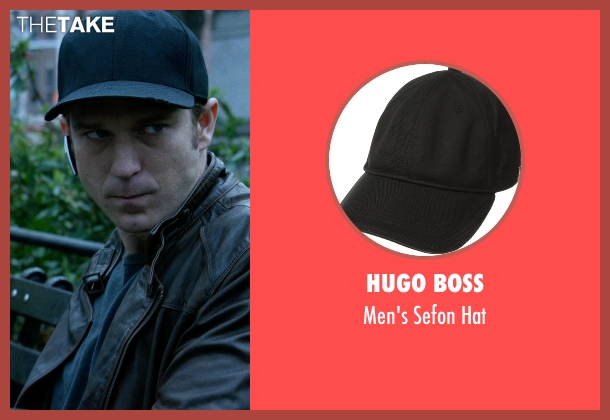 Hugo Boss black hat from Jessica Jones seen with Will Simpson  (Wil Traval)