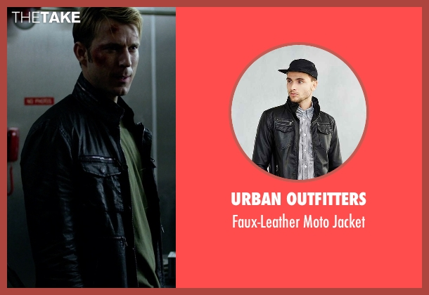 Urban Outfitters black jacket from Jessica Jones seen with Will Simpson  (Wil Traval)
