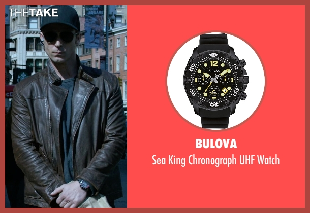 Bulova black watch from Jessica Jones seen with Will Simpson  (Wil Traval)