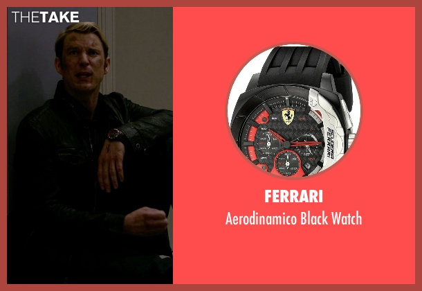 Ferrari black watch from Jessica Jones seen with Will Simpson  (Wil Traval)