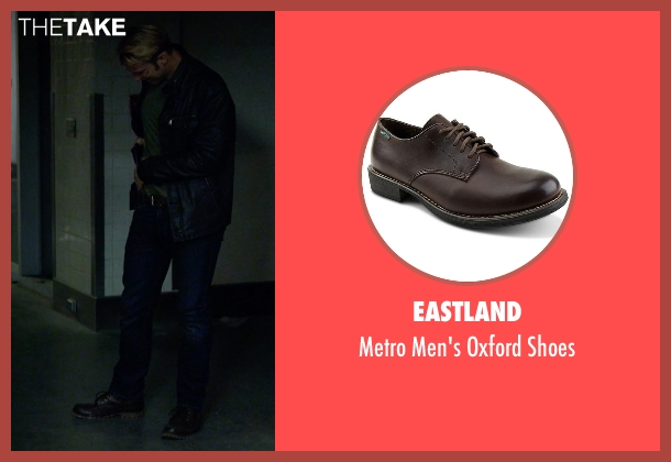 Eastland brown shoes from Jessica Jones seen with Will Simpson  (Wil Traval)