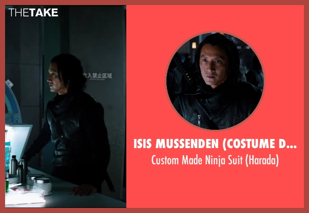Isis Mussenden (Costume Designer) suit from The Wolverine seen with Will Yun Lee (Harada)