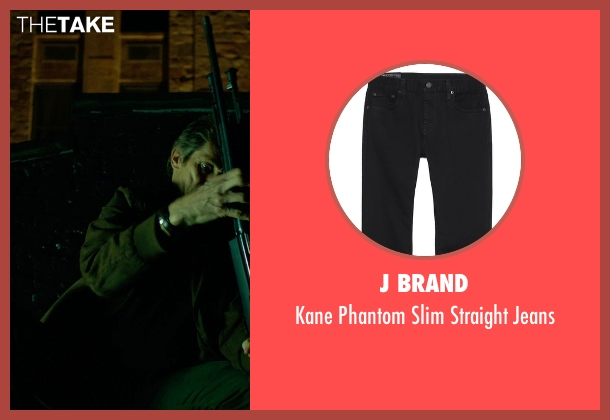 J Brand black jeans from John Wick seen with Willem Dafoe (Marcus)
