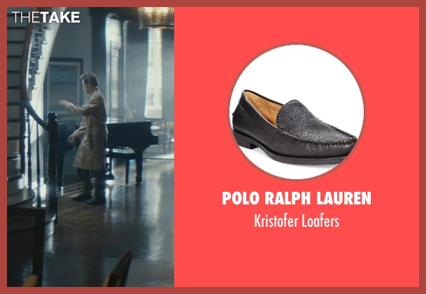 Polo Ralph Lauren black loafers from John Wick seen with Willem Dafoe (Marcus)