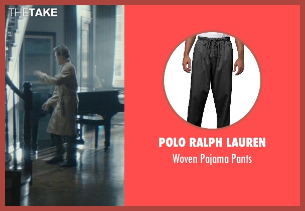 Polo Ralph Lauren black pants from John Wick seen with Willem Dafoe (Marcus)
