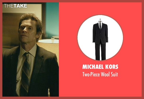 Michael Kors black suit from John Wick seen with Willem Dafoe (Marcus)