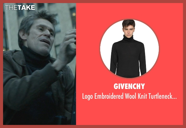 Givenchy black sweater from John Wick seen with Willem Dafoe (Marcus)