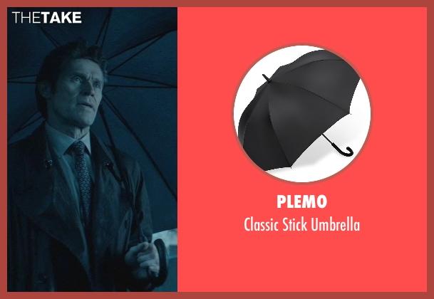 Plemo black umbrella from John Wick seen with Willem Dafoe (Marcus)