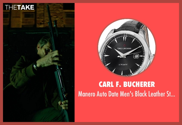 Carl F. Bucherer black watch from John Wick seen with Willem Dafoe (Marcus)
