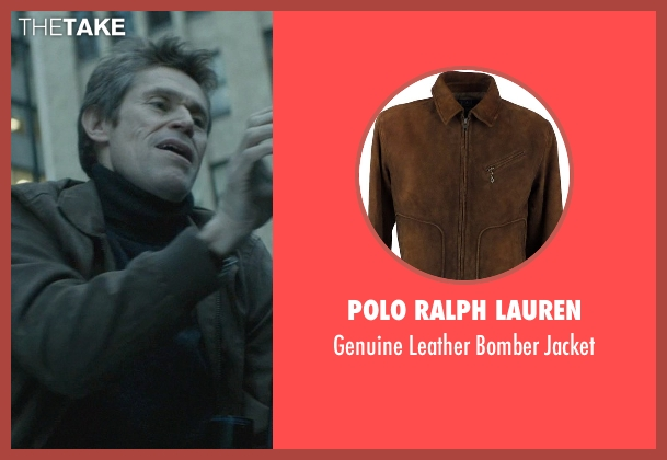 Polo Ralph Lauren brown jacket from John Wick seen with Willem Dafoe (Marcus)
