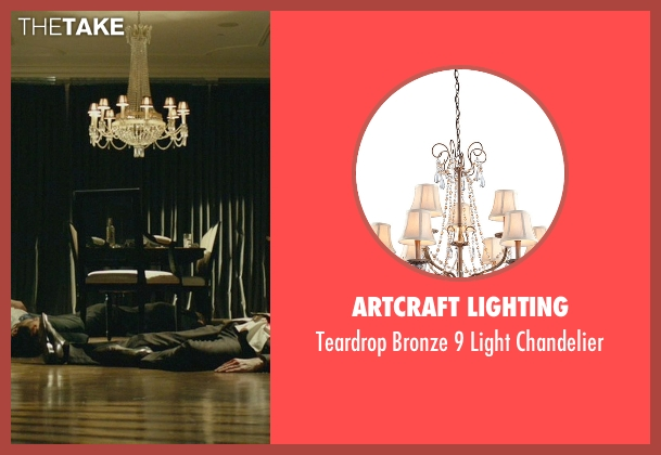 Artcraft Lighting chandelier from John Wick seen with Willem Dafoe (Marcus)