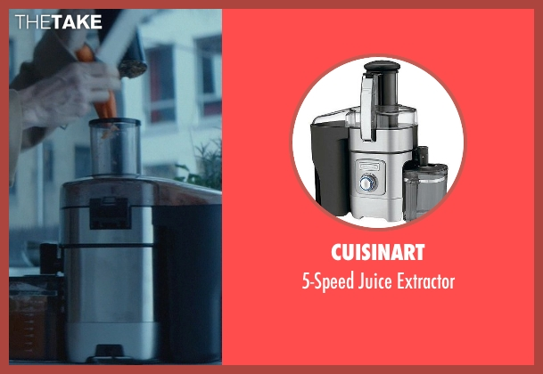 Cuisinart extractor from John Wick seen with Willem Dafoe (Marcus)
