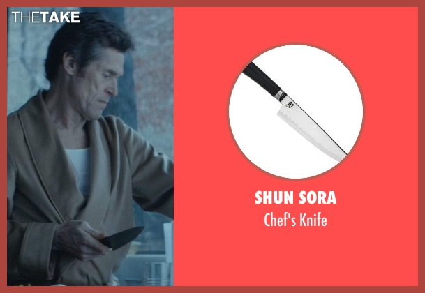 Shun Sora knife from John Wick seen with Willem Dafoe (Marcus)
