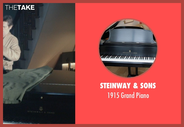 Steinway & Sons piano from John Wick seen with Willem Dafoe (Marcus)