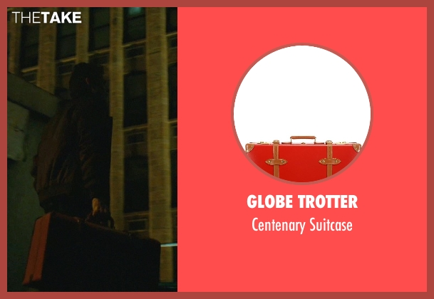Globe Trotter red suitcase from John Wick seen with Willem Dafoe (Marcus)