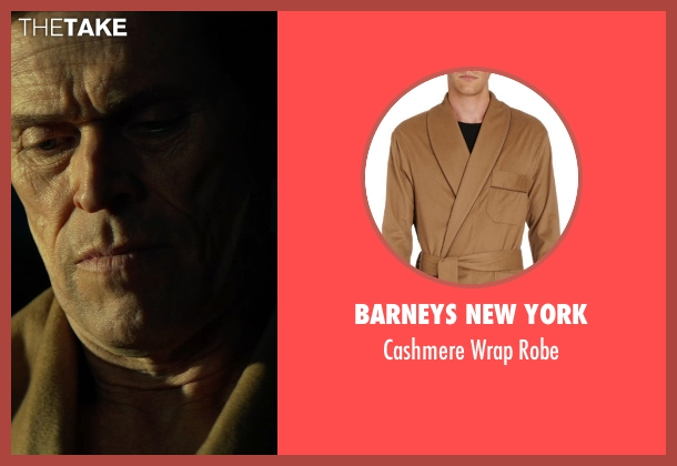 Barneys New York robe from John Wick seen with Willem Dafoe (Marcus)