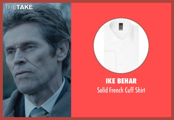 Ike Behar white shirt from John Wick seen with Willem Dafoe (Marcus)