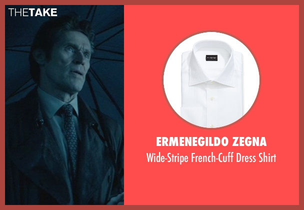 Ermenegildo Zegna white shirt from John Wick seen with Willem Dafoe (Marcus)