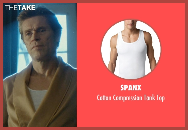 Spanx white top from John Wick seen with Willem Dafoe (Marcus)