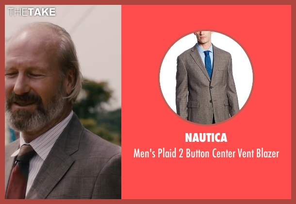 Nautica brown blazer from The Disappearance of Eleanor Rigby seen with William Hurt (Julian Rigby)