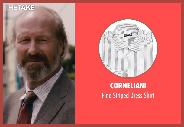 Corneliani white shirt from The Disappearance of Eleanor Rigby seen with William Hurt (Julian Rigby)