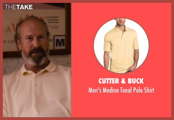Cutter & Buck yellow shirt from The Disappearance of Eleanor Rigby seen with William Hurt (Julian Rigby)