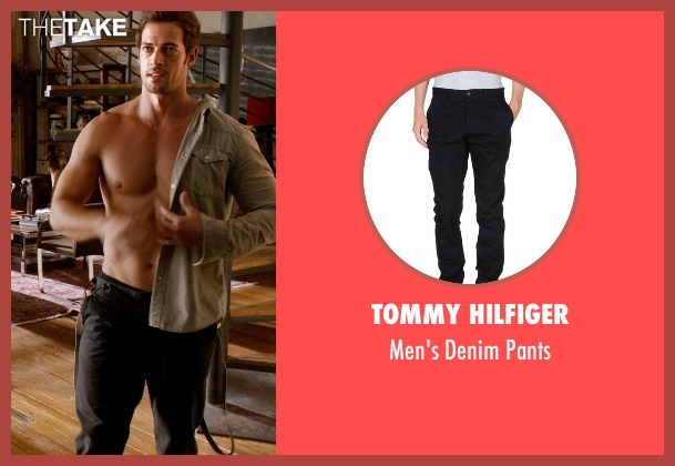 Tommy Hilfiger black pants from Addicted seen with William Levy (Quentin Matthews)