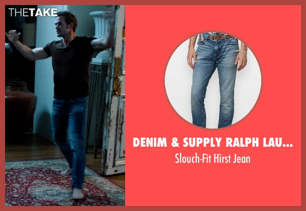 Denim & Supply Ralph Lauren blue jean from Addicted seen with William Levy (Quentin Matthews)
