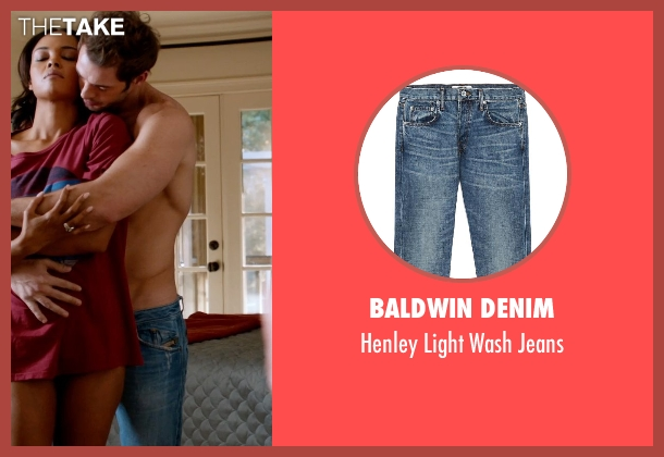Baldwin Denim blue jeans from Addicted seen with William Levy (Quentin Matthews)