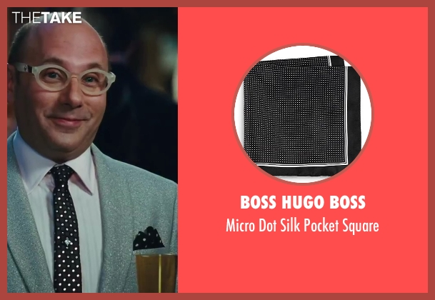 Boss Hugo Boss black square from Sex and the City 2 seen with Willie Garson (Stanford Blatch )