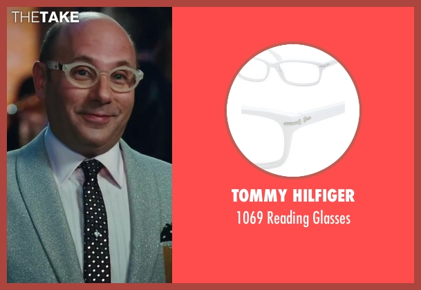 Tommy Hilfiger white glasses from Sex and the City 2 seen with Willie Garson (Stanford Blatch )