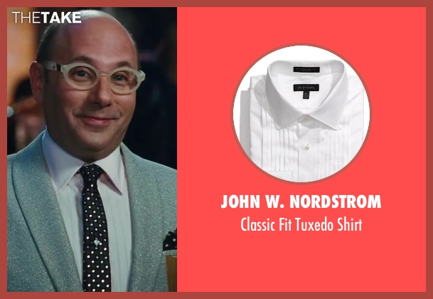 John W. Nordstrom white shirt from Sex and the City 2 seen with Willie Garson (Stanford Blatch )