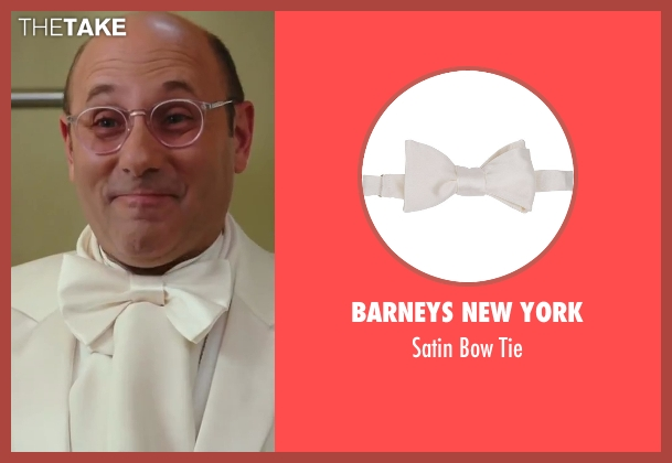 Barneys New York white tie from Sex and the City 2 seen with Willie Garson (Stanford Blatch )