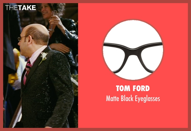 Tom Ford black eyeglasses from Sex and the City seen with Willie Garson (Stanford Blatch )