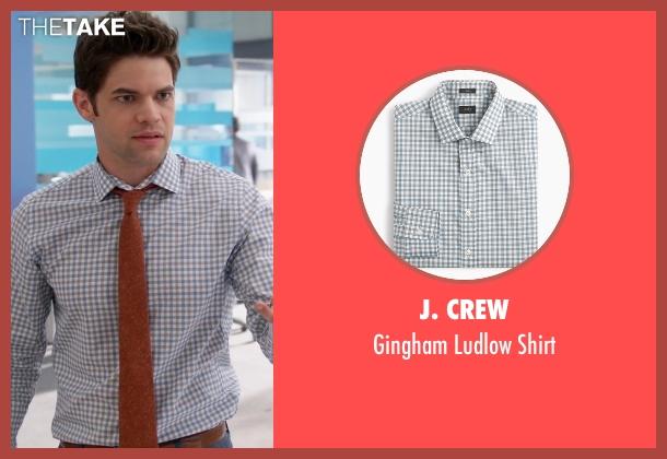 J. Crew shirt from Supergirl seen with Winn Schott  (Jeremy Jordan)