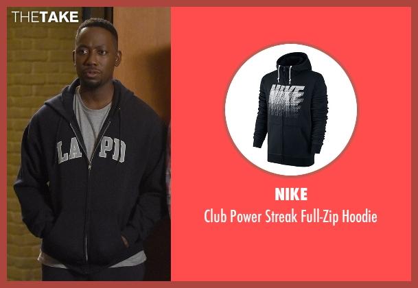 Nike black hoodie from New Girl seen with Winston Bishop (Lamorne Morris)