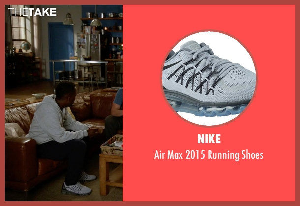 Nike gray shoes from New Girl seen with Winston Bishop (Lamorne Morris)