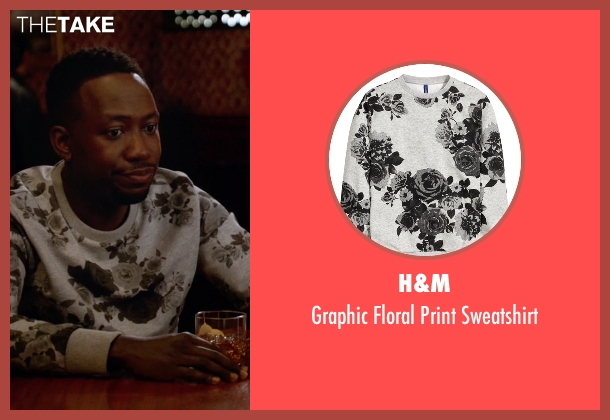 H&M gray sweatshirt from New Girl seen with Winston Bishop (Lamorne Morris)