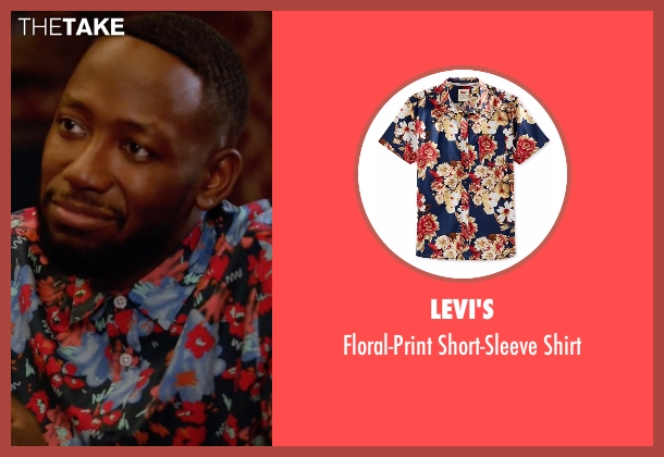 Levi's  shirt from New Girl seen with Winston Bishop (Lamorne Morris)