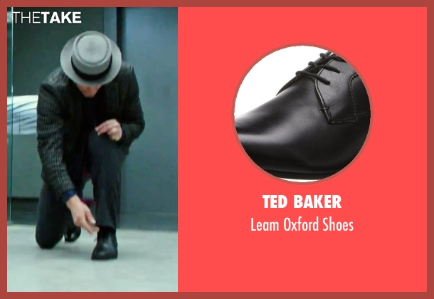 Ted Baker black shoes from Now You See Me 2 seen with Woody Harrelson (Merritt McKinney)