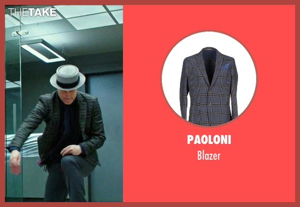 Paoloni blazer from Now You See Me 2 seen with Woody Harrelson (Merritt McKinney)