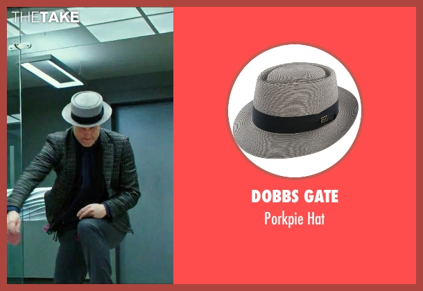 Dobbs Gate gray hat from Now You See Me 2 seen with Woody Harrelson (Merritt McKinney)