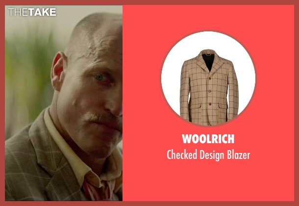 Woolrich beige blazer from Triple 9 seen with Woody Harrelson (Sergeant Detective Jeffrey Allen)