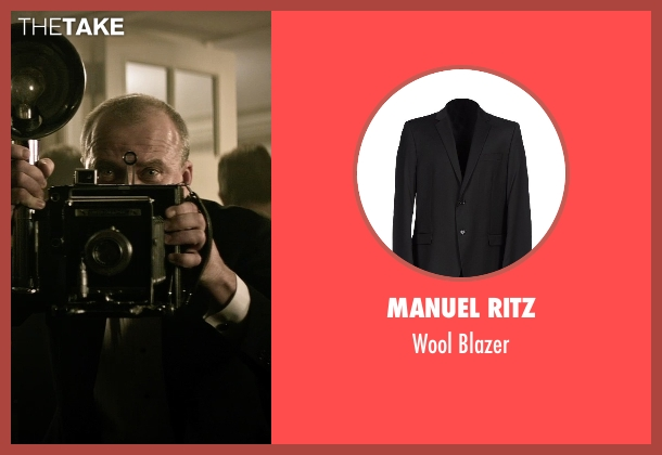 Manuel Ritz black blazer from The Age of Adaline seen with Yaroslav Poverlo (Photographer)
