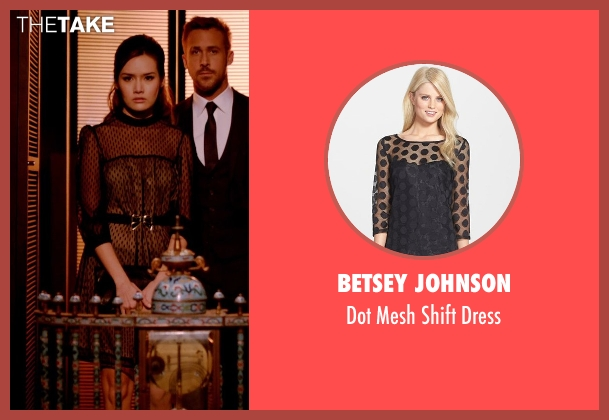 Betsey Johnson black dress from Only God Forgives seen with Yayaying Rhatha Phongam (Mai)