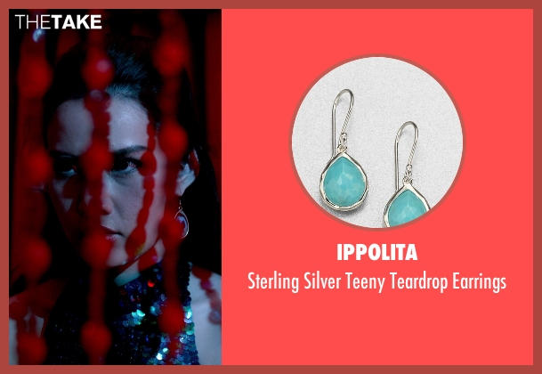 Ippolita blue earrings from Only God Forgives seen with Yayaying Rhatha Phongam (Mai)