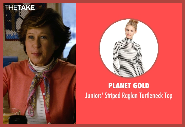 Planet Gold white top from New Year's Eve seen with Yeardley Smith (Maude)